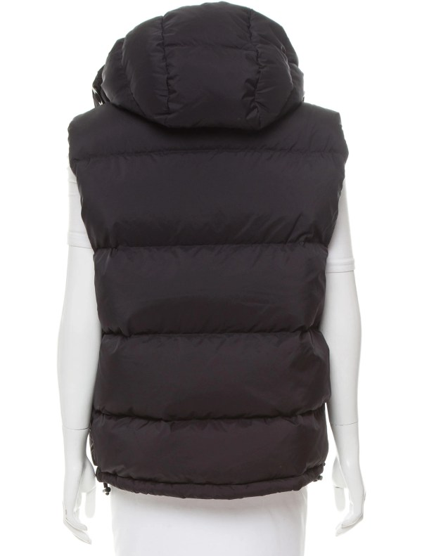 Burberry Brit Hooded Puffer Vest - Clothing Bbr26994 Realreal