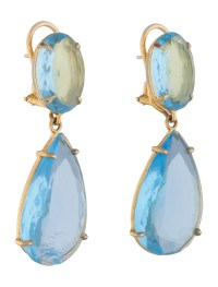 Bounkit Teardrop Crystal Earrings - Earrings - BKT20090 ...