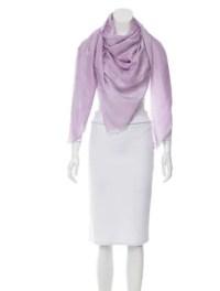 Chanel Cashmere Camellia Shawl - Accessories - CHA156852 ...