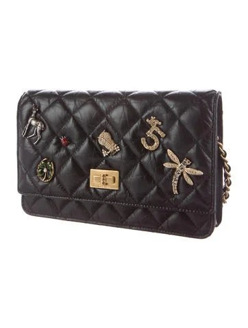 Chanel 2017 Lucky Charms Reissue Wallet On Chain - Handbags - CHA183657   The RealReal