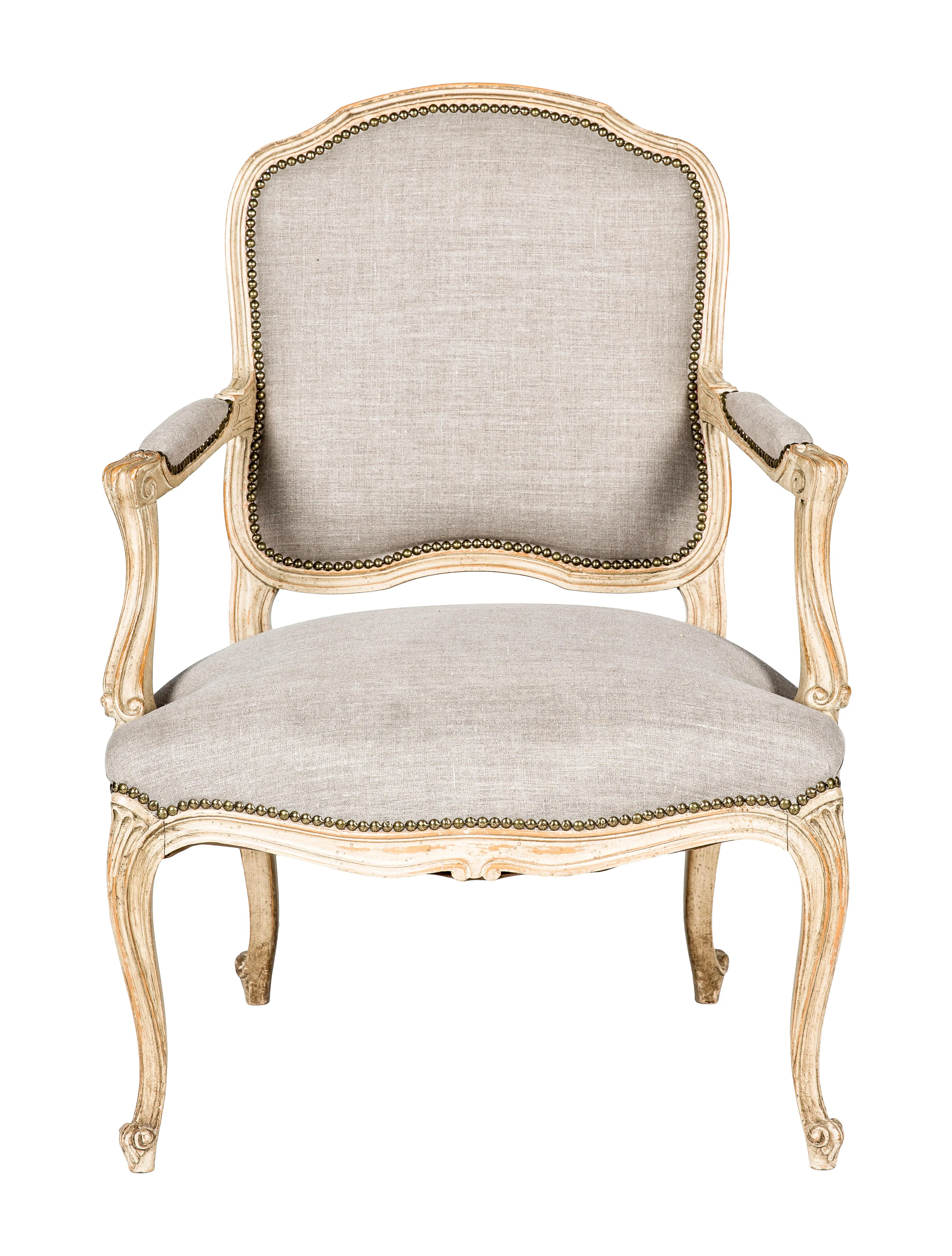 recliner accent chairs upholstered dining chair with arms louis xv style furniture