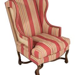 Striped Wingback Chair Ergonomic Argos Upholstered Furniture