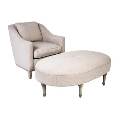 Chairs And Ottomans Upholstered Modern White Leather Office Chair 2 Armchair Ottoman Furniture Chair20476