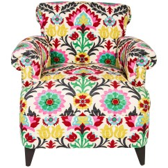 Floral Upholstered Chair Upcycled Dining Room Chairs Club Furniture Chair20495
