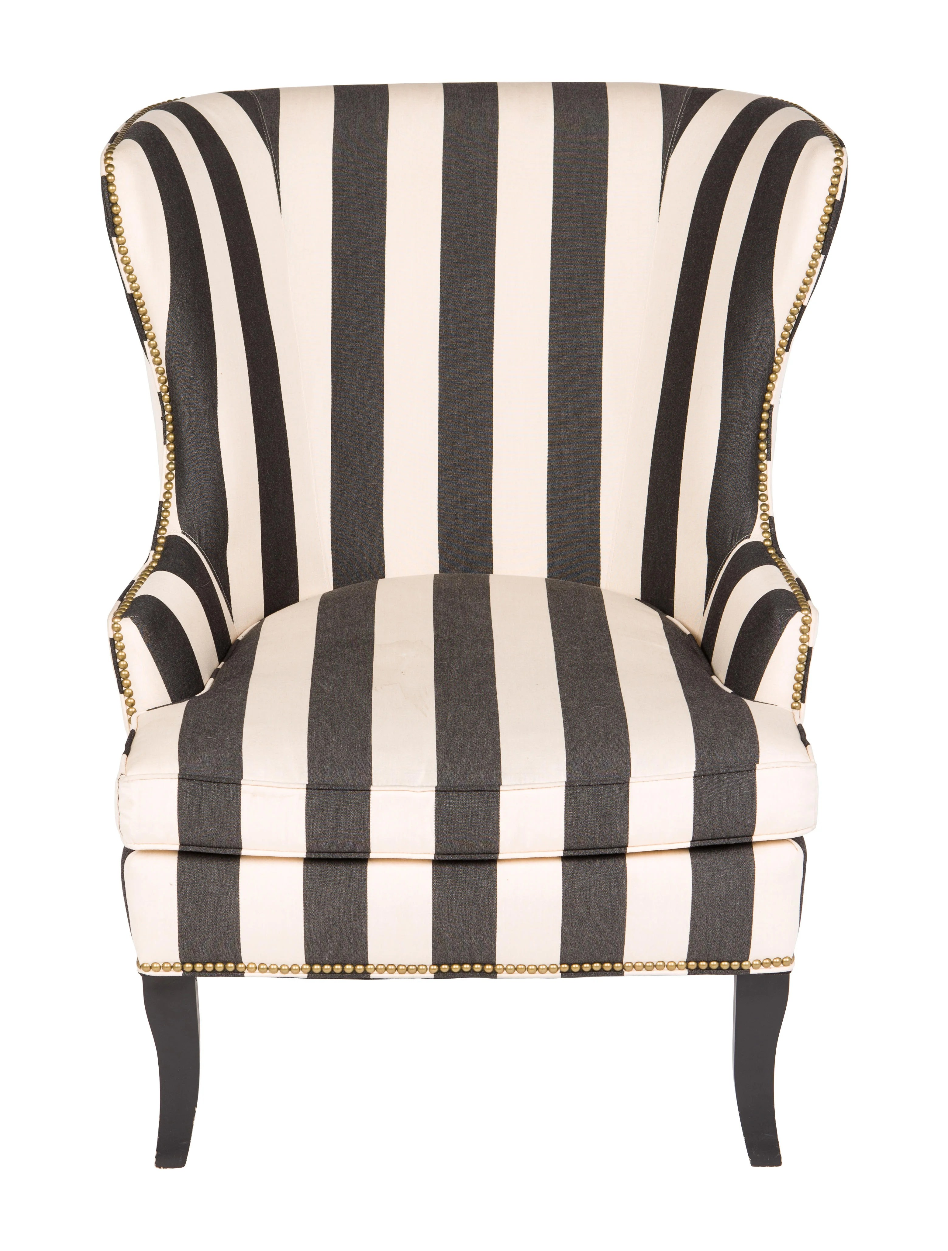 striped wingback chair target cord upholstered furniture