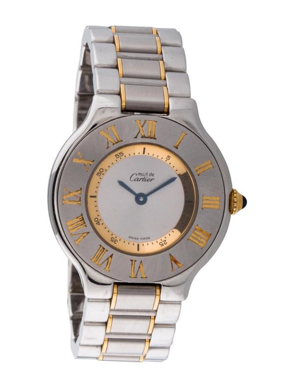 Cartier De 21 Watch - Bracelet Crt24524