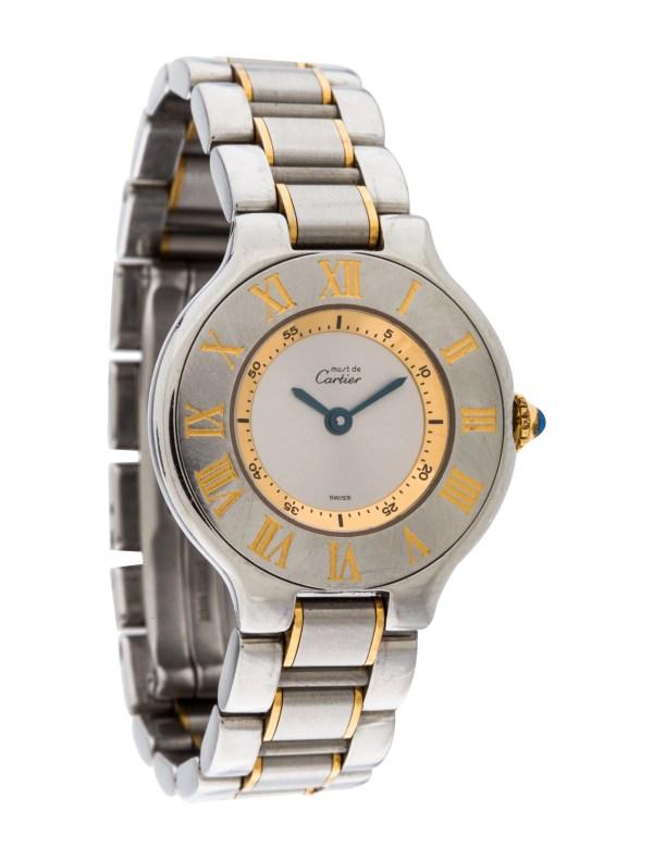 Cartier De 21 Watch - Bracelet Crt30068