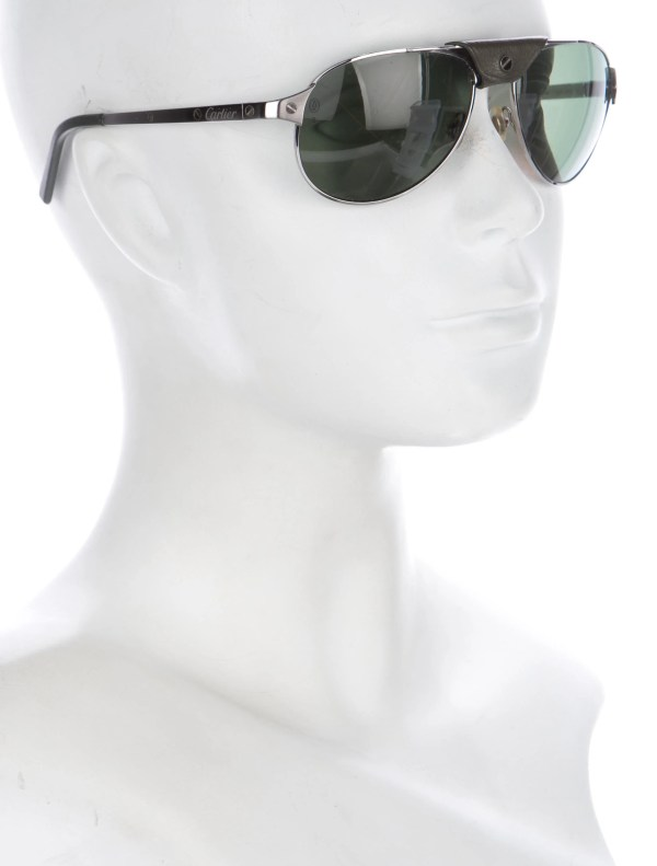 Cartier Santos Dumont Polarized Sunglasses - Accessories