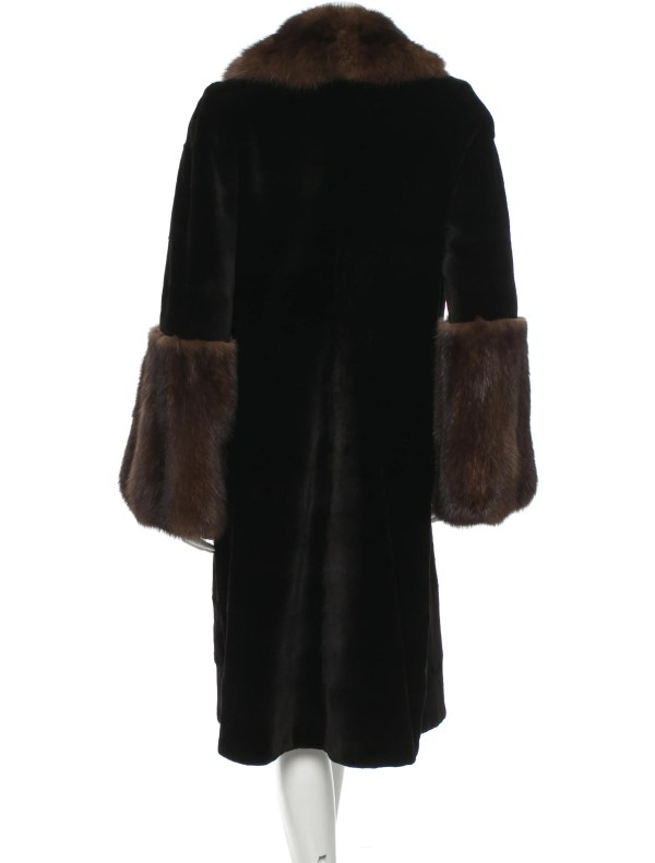 Dennis Basso Sheared Mink Coat - Clothing Den20165