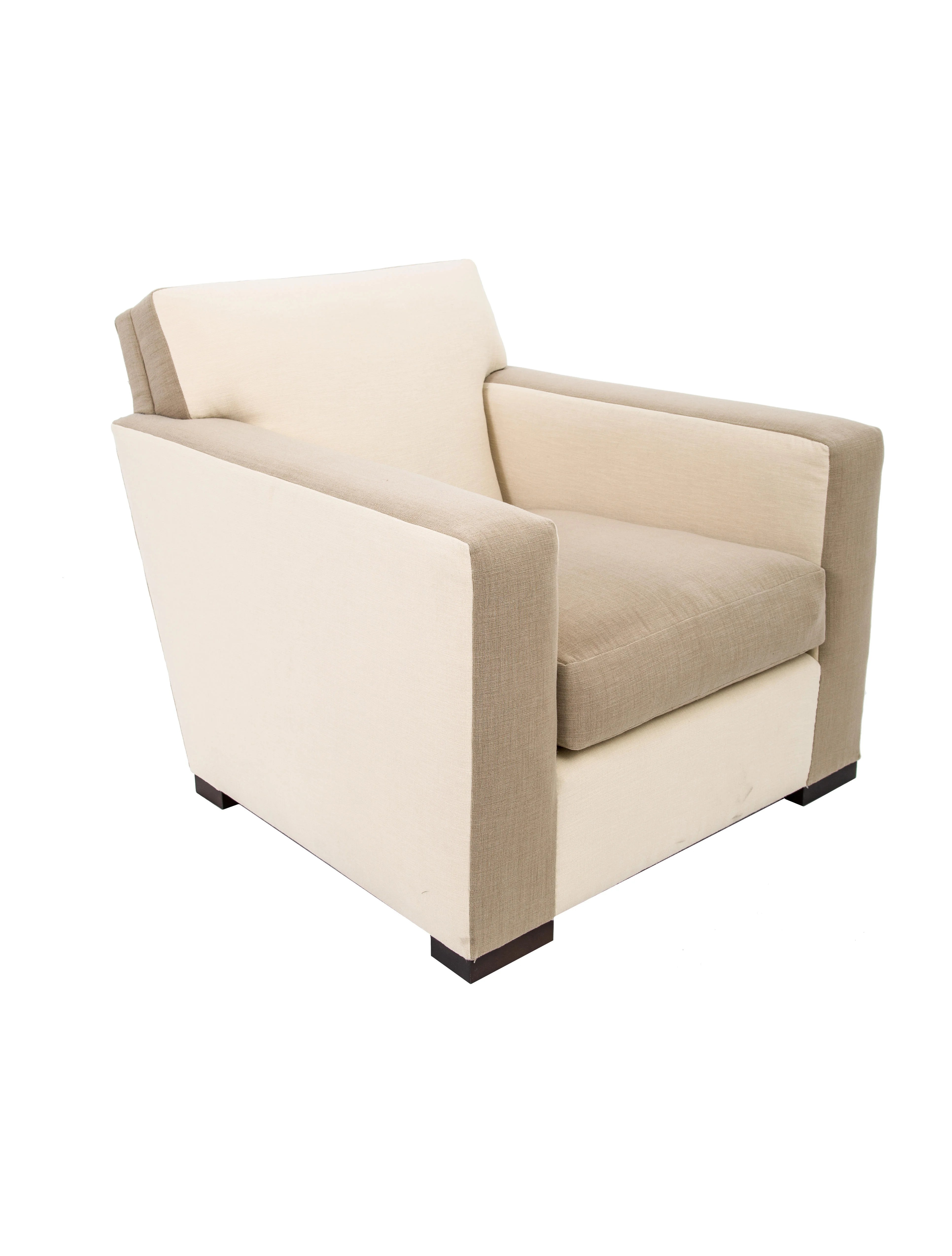 Upholstered Club Chair Donghia Upholstered Club Chair Furniture Donnh20018