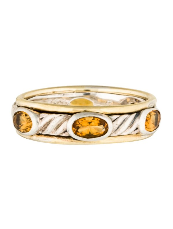 David Yurman Citrine Eternity Band - Rings Dvy34960