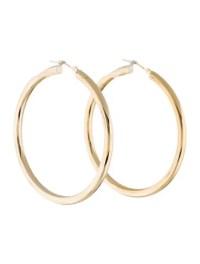14K Hollow Hoop Earrings - Earrings - EARRI26434 | The ...