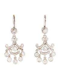 14K Diamond Chandelier Earrings - Earrings - EARRI35262 ...