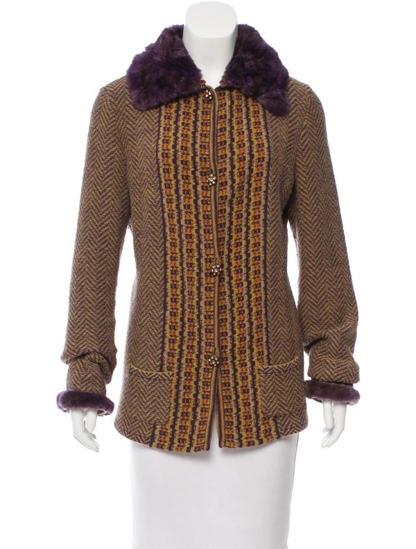 Fur Trimmed Sweaters for Women