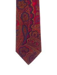 Etro Silk Paisley Print Tie - Suiting Accessories ...
