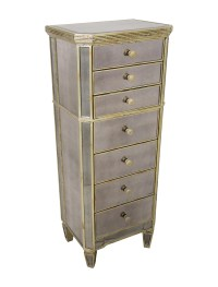 Amelie Mirrored Lingerie Chest - Furniture - FURNI20304 ...