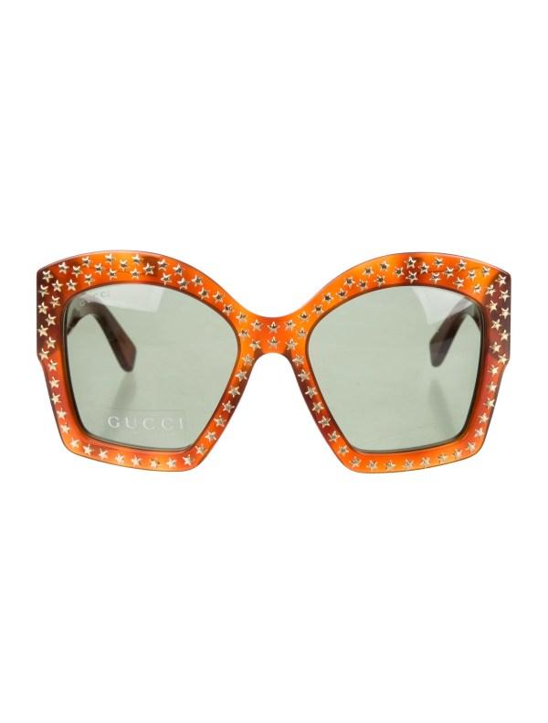 Gucci Sunglasses with Stars