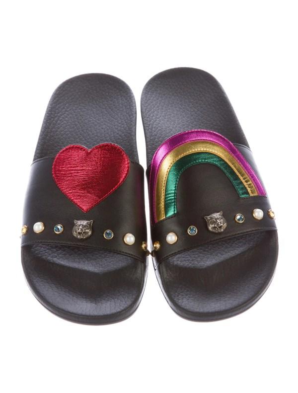 9de6d72c9a142 Gucci 2017 Pursuit Slide Sandals - Shoes Guc135523