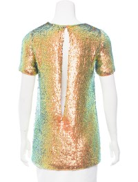 Gucci Iridescent Sequin Top