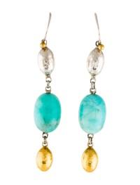Gurhan Amazonite Drop Earrings