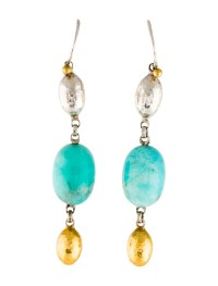 Gurhan Amazonite Drop Earrings - Earrings - GUR21790 | The ...