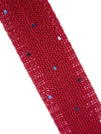Herms Skinny Knit Tie w/ Tags - Suiting Accessories ...