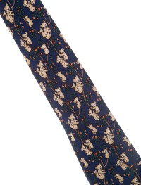 Herms Animal Print Silk Tie - Suiting Accessories ...