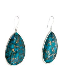 Ippolita Turquoise Teardrop Earrings - Earrings - IPP26910 ...