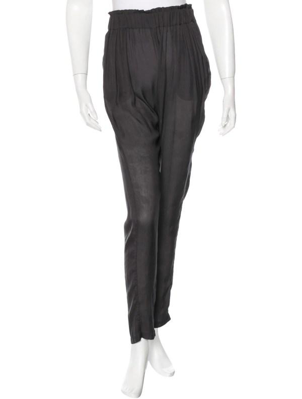 Isabel Marant Semi-sheer Harem Pants - Clothing Isa35888