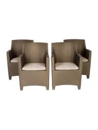 Janus et Cie Dedon Barcelona Dining Chairs - Furniture ...