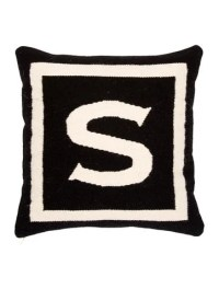 Jonathan Adler Letter Throw Pillow - Pillows And Throws ...