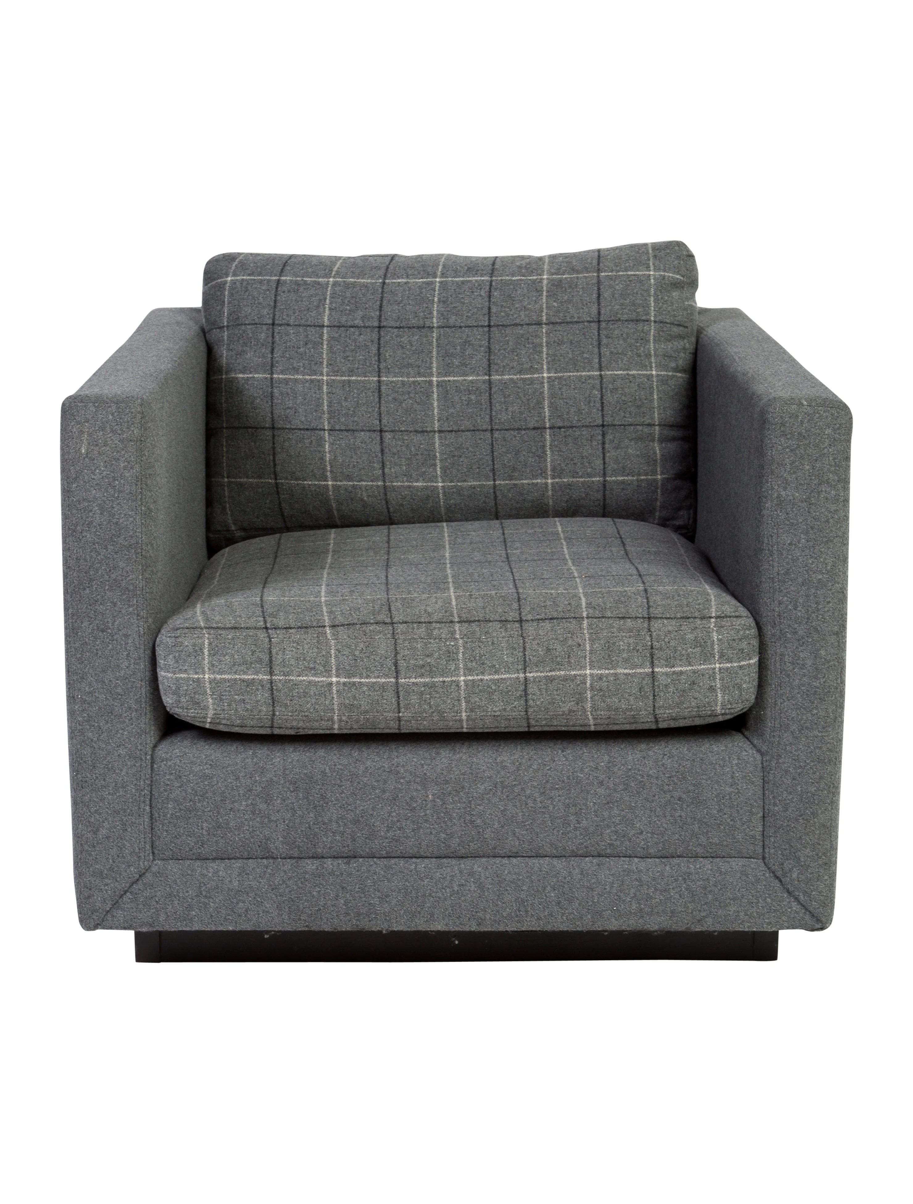 tartan dining chair covers for sale revolving india jonathan adler blakeley plaid club furniture
