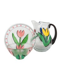 Kosta Boda 16-Piece Ulrica Hydman-Vallien Tulipa Table ...