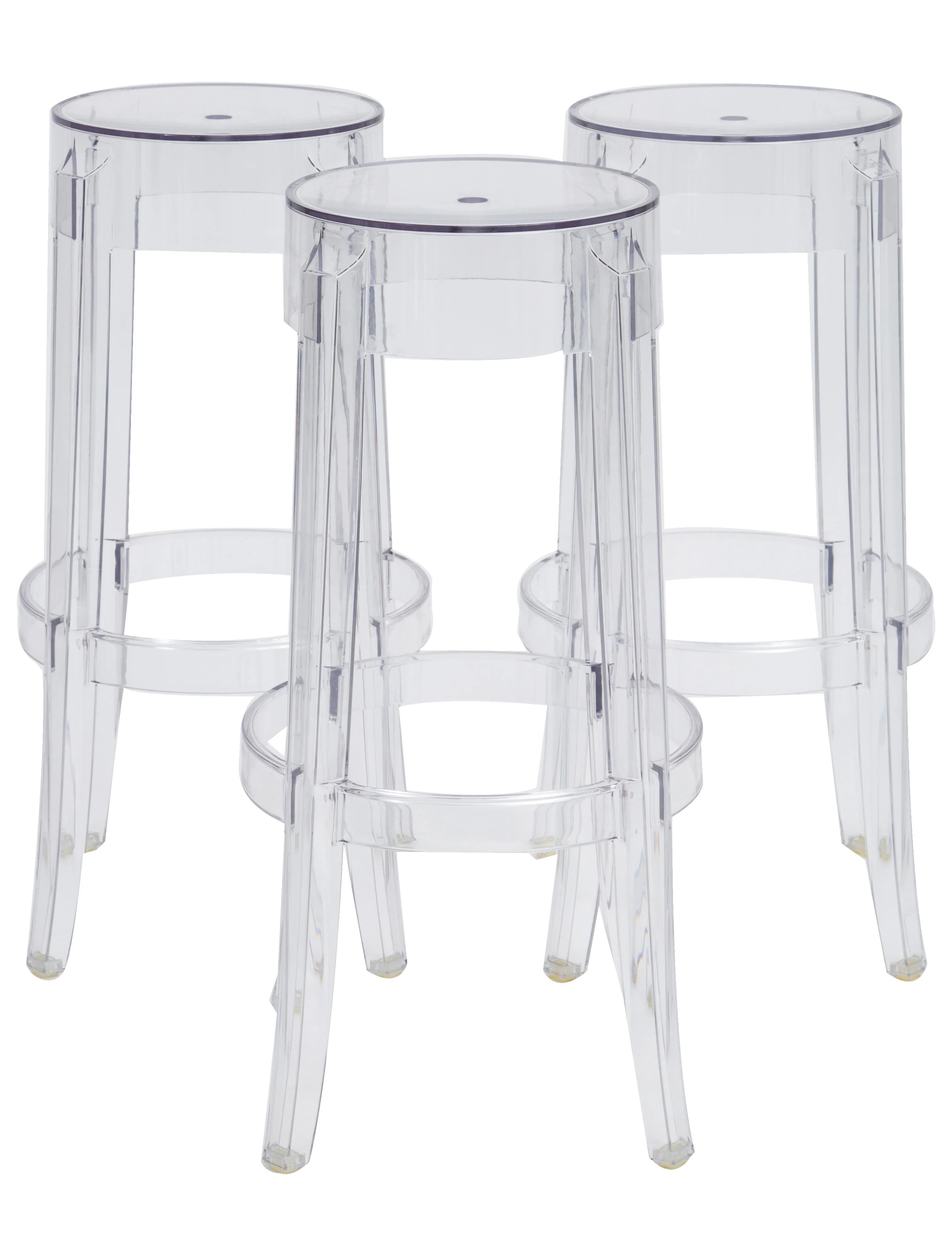 ghost bar chair covers wedding kartell charles stools furniture ktl20102