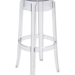 Ghost Chair Stool Used Desk Chairs Kartell Charles Bar Stools Furniture Ktl20102