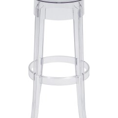 Ghost Chair Stool Lounge Size Kartell Charles Bar Stools Furniture Ktl20102