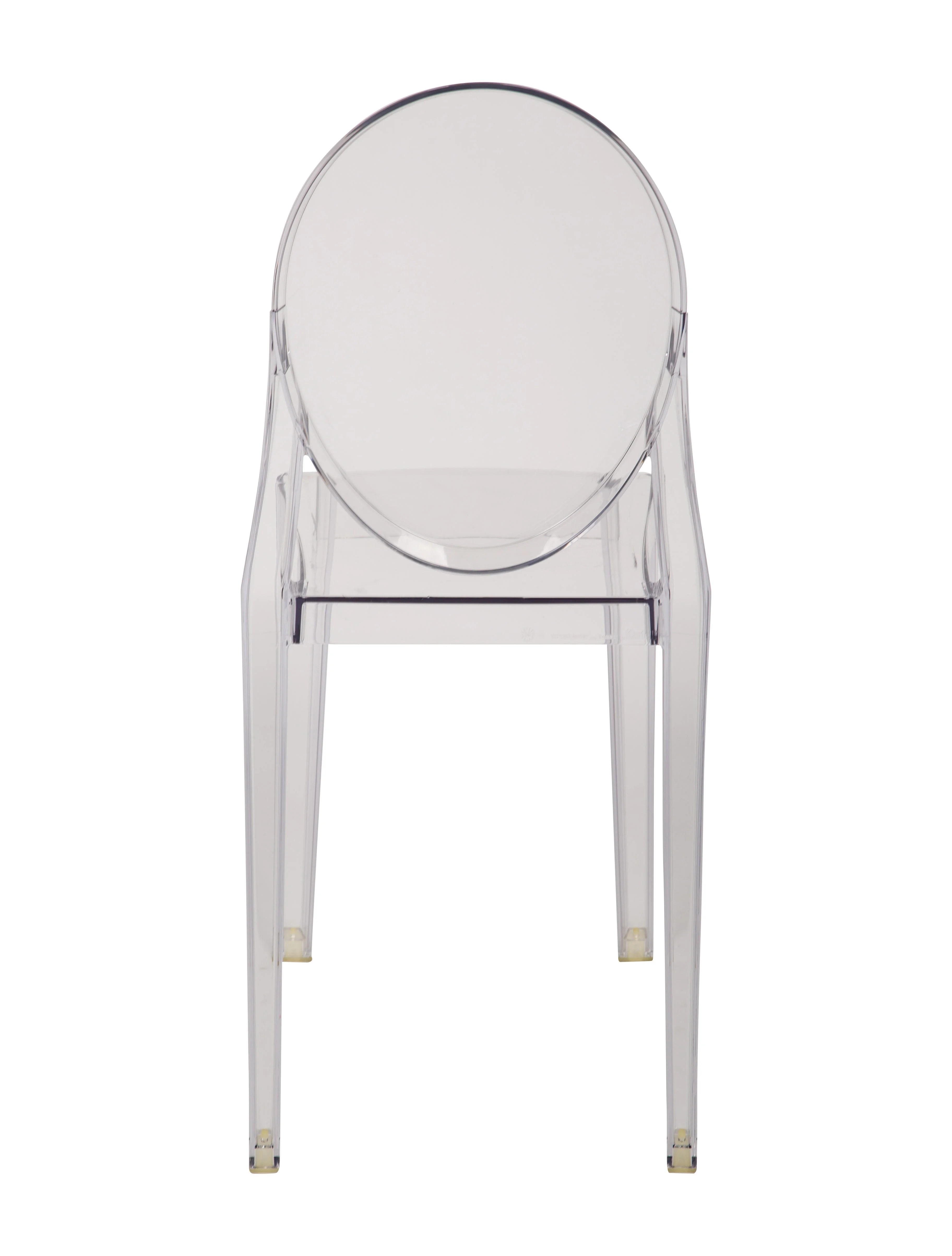 ghost side chair living room club chairs kartell victoria furniture ktl20189 the