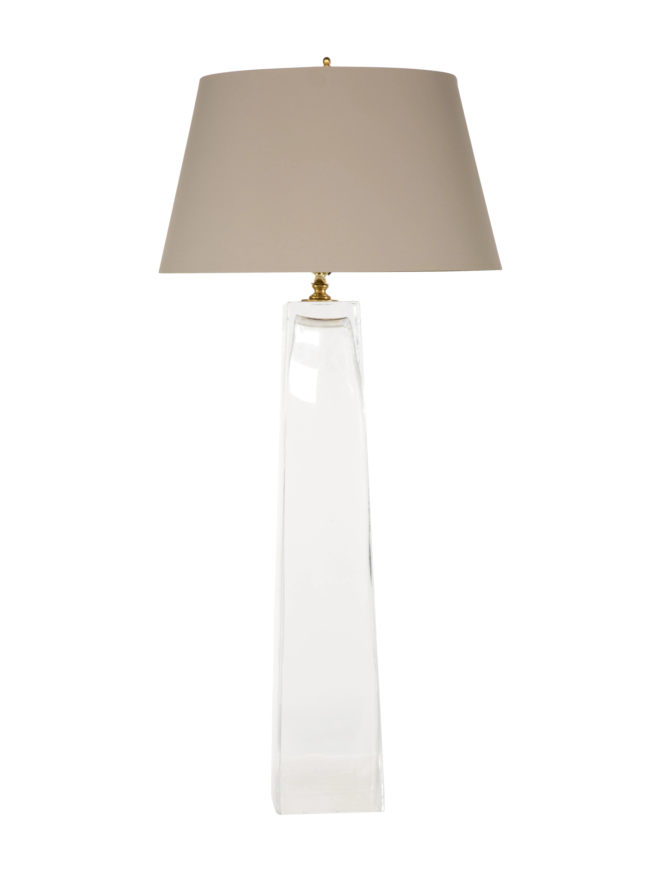 glass table lamp lighting