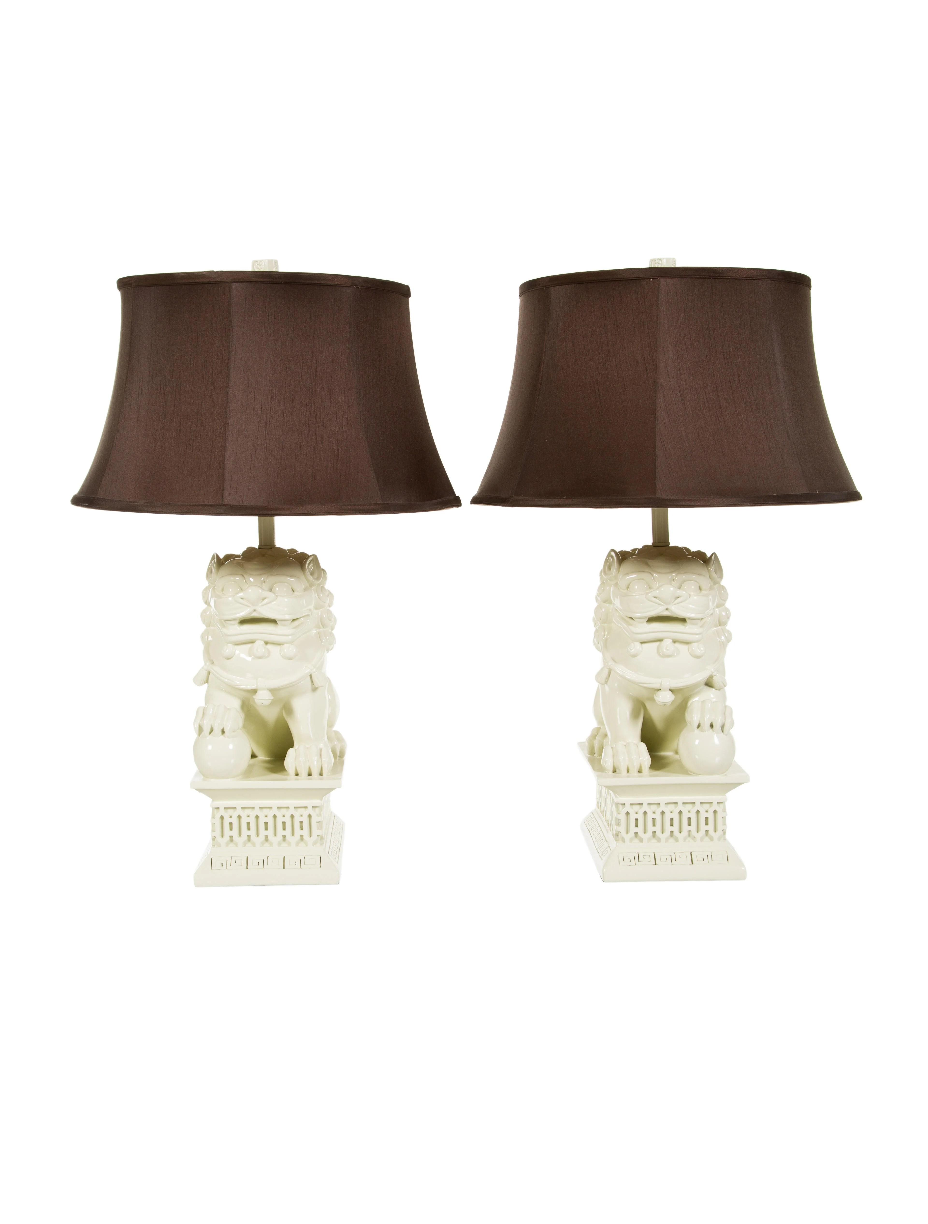 lighting pair of barbara cosgrove foo