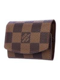Louis Vuitton Damier Ebene Cufflink Holder - Accessories ...