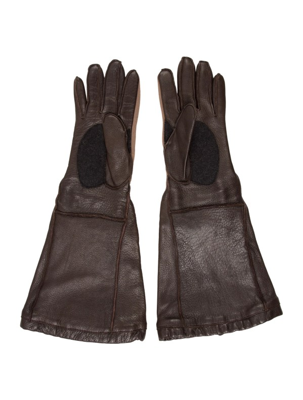 Marni Leather Elbow-length Gloves - Accessories Man61099 Realreal