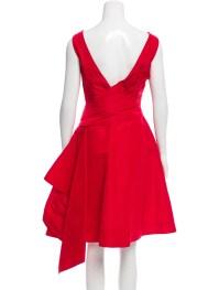Monique Lhuillier A-Line Silk Dress - Clothing - MOI21644 ...