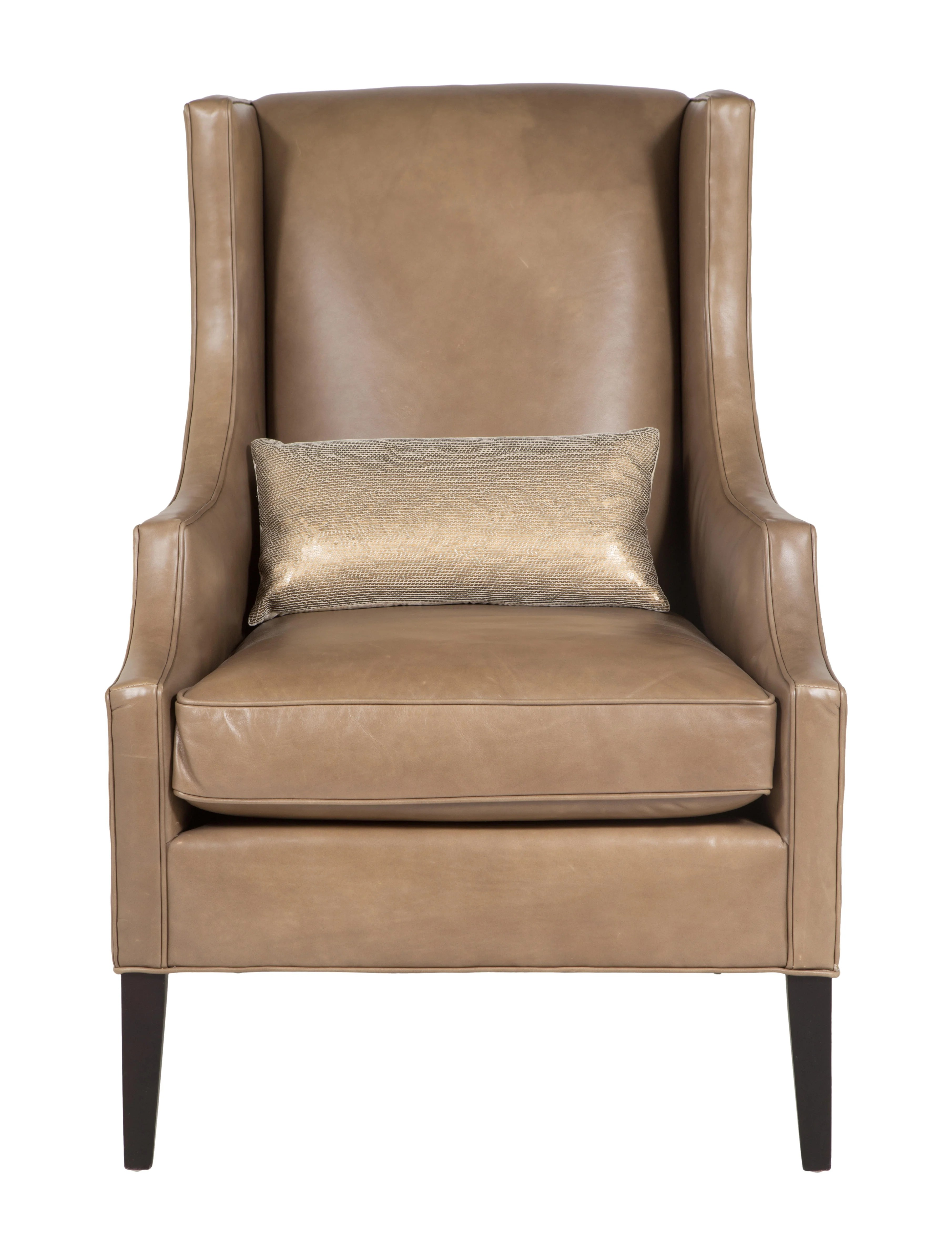 mitchell gold chairs soccer chair and ottoman 43 bob williams james vegan leather wing