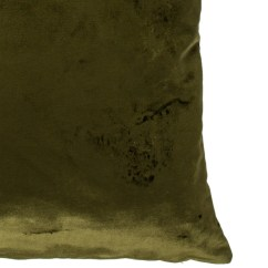 Olive Green Velvet Accent Chair Garden Covers Seat Cushion Iosis Throw Pillow Bedding And Bath Pillo20213