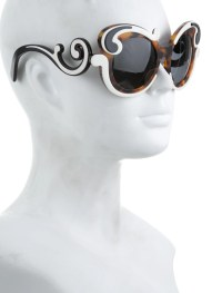 Prada Baroque Oversized Sunglasses - Accessories ...