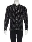 Silk French Cuff Shirt Men