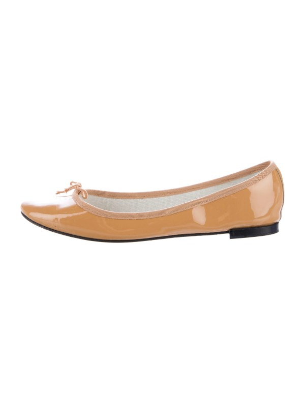 Repetto Patent Leather Ballet Flats Shoes REP21311