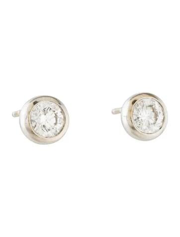 Roberto Coin 18K Diamond Stud Earring