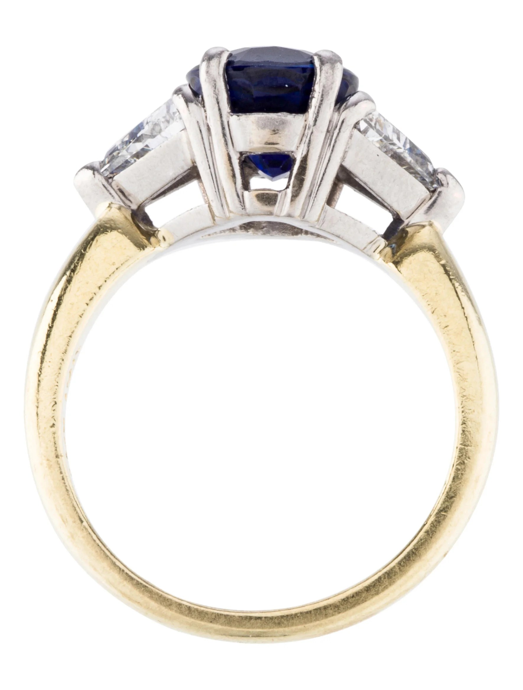 BiColor Sapphire  Diamond Ring  Rings  RRING29361  The RealReal