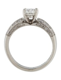 Platinum Diamond Wedding Set Ring - Rings - RRING34533 ...